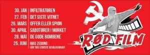 rød film
